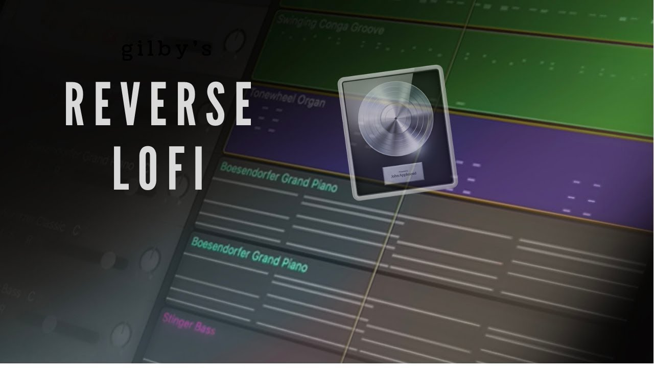 How To Make Reverse LoFi Melodies and Chords in Logic Pro X