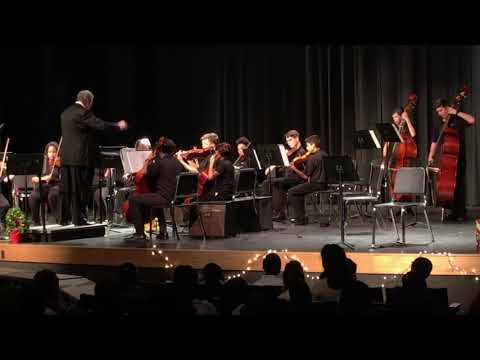 Bradley Middle School Orchestra Christmas Concert 12.17.2018