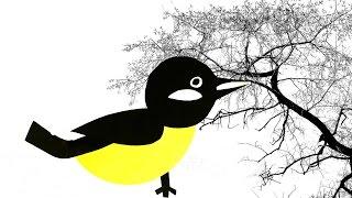 Как сделать птицу из цветной бумаги