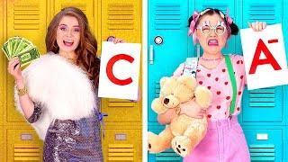 VITA DA ADOLESCENTI vs VITA DA BAMBINI || Adolescenti E I Loro Problemi Giornalieri su 123 GO! BOYS