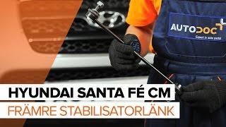 Hur byter man Tändstift HYUNDAI SANTA FÉ II (CM) - videoguide