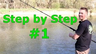Welsangeln Step by Step #1 - Ufer, kein Boot, Würmer - www.zeck-fishing.com