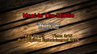Diamond Rio - Meet In The Middle (Backing Track)