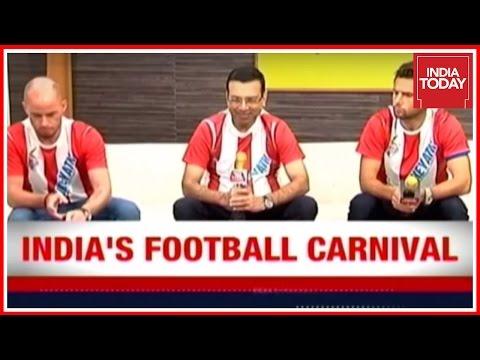 Football Carnival: Atletico de kolkata Gets A Taste Of India