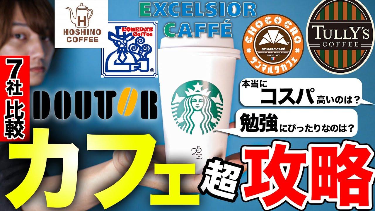 カフェ王選手権‼︎誰も教えないコスパ最強カフェは!?あなたにぴったりなカフェ見つけます。