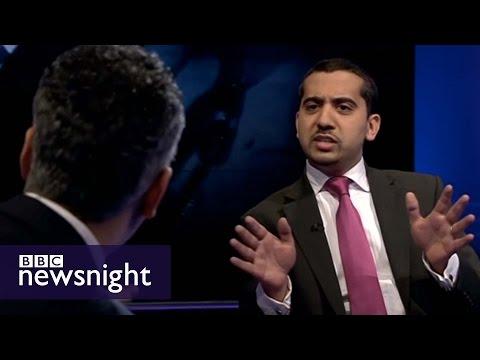 Maajid Nawaz, Mehdi Hassan and Mo Ansar lock horns on BBC Newsnight