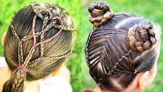 ✨UNIQUE BRAID HAIRSTYLES FOR GIRLS | Best Makeup Tutorials 2019 | Makeupholic
