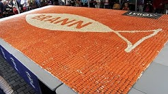 Lerøy - Sushi mosaic - Guinness World Record