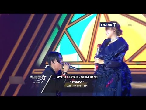 SELEBRITA AWARDS 2017 Mytha Lestari Ft Setia Band - Puspa