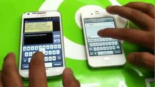 iPhone 4S Vs Galaxy S2