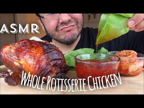 Asmr #570 Whole Rotisserie Chicken!