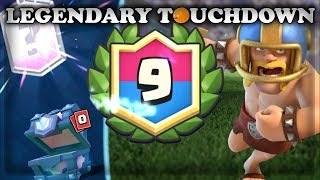 9 Win Touchdown Challenge| Clash Royale