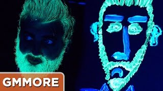 Glow in the Dark Paint Challenge