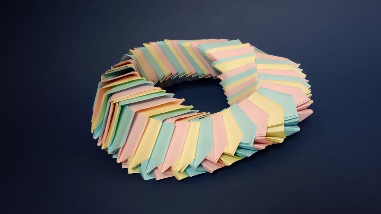 Как сделать бумажный оригами антистресс своими руками ...
