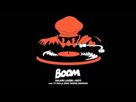 Major Lazer & MOTi   Boom Feat  Ty Dolla $ign, Wizkid, & Kranium (NEW MUSIC 2015)