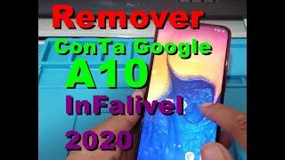 Remoção Conta Google A10 105m. Infalivel 2020