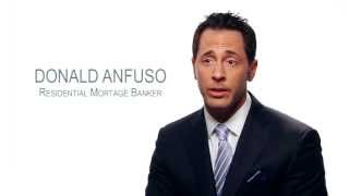 Donald Anfuso Your Mortgage Professional For Life Bio Video