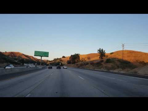 101 Freeway to Los Angeles, California