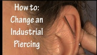 How to Change an Industrial/Scaffold Barbell