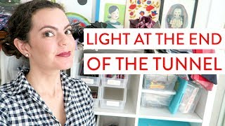 The Light at the End of the Holiday Rush Tunnel | Day in the Life of an Etsy Shop