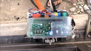 Установка автоматики на откатные ворота (BFT)