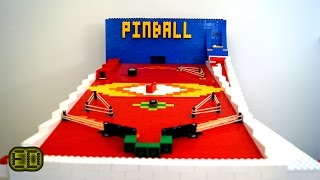 Lego Pinball Machine - V6 *GIGANTIC*