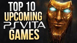 Top 10 Upcoming PS Vita Games (2016-2017) [HD]
