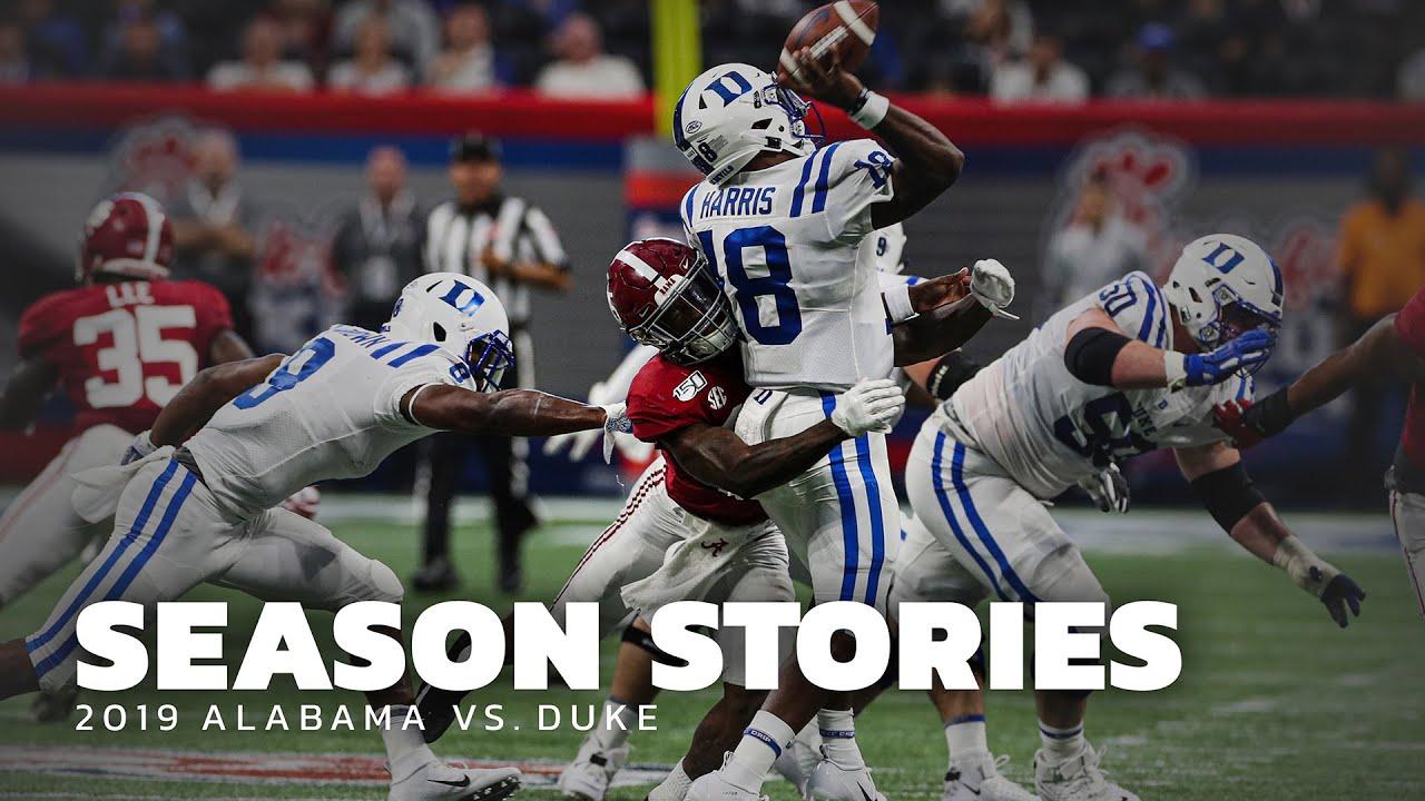 Download Season Stories: Alabama vs Duke 2019