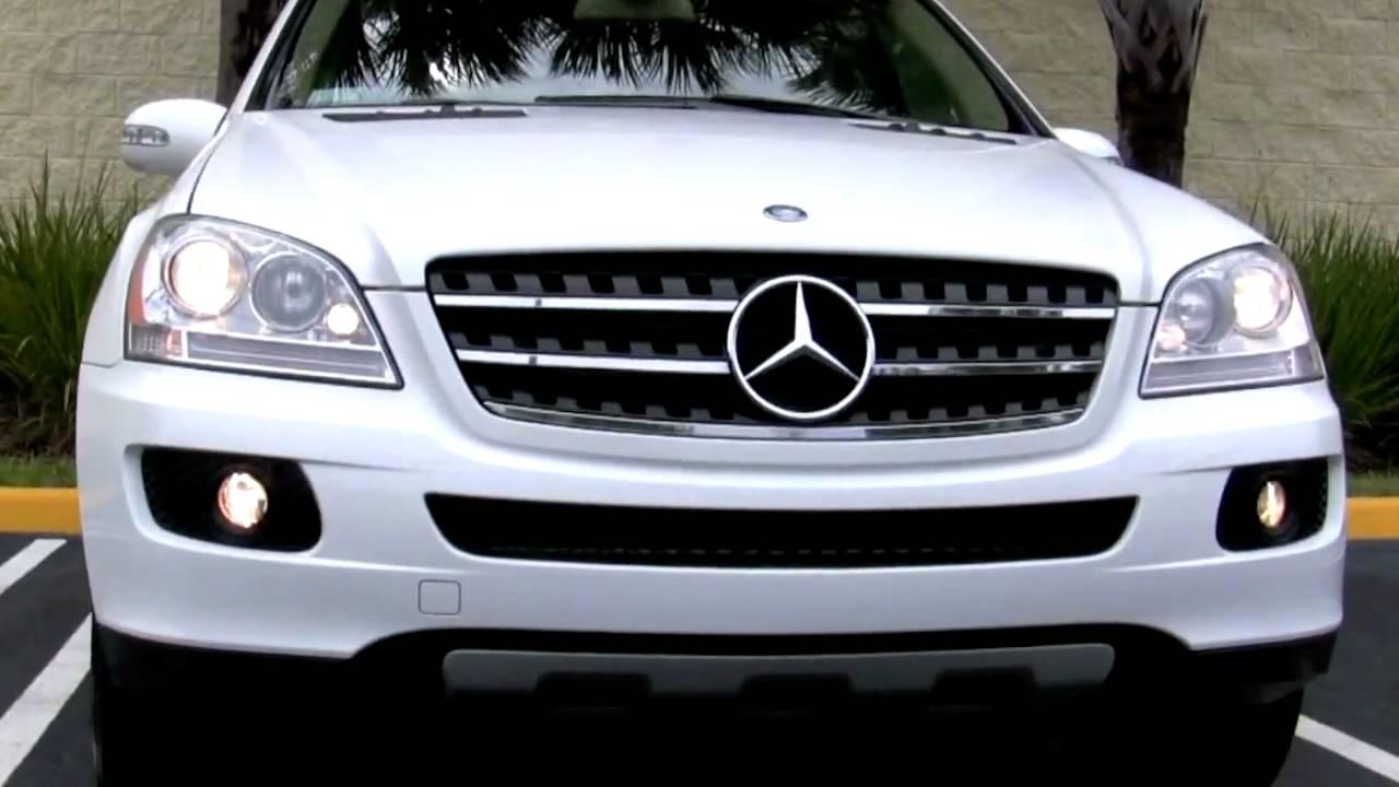 2007 Mercedes Benz Ml320 Cdi Alabaster White Youtube