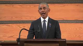 LIVE:  Barack Obama delivers Eulogy at John Lewis Funeral