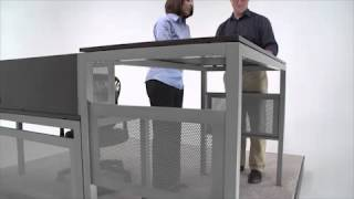 Standing Height Desk | Nbf At Work | National Business Furniture