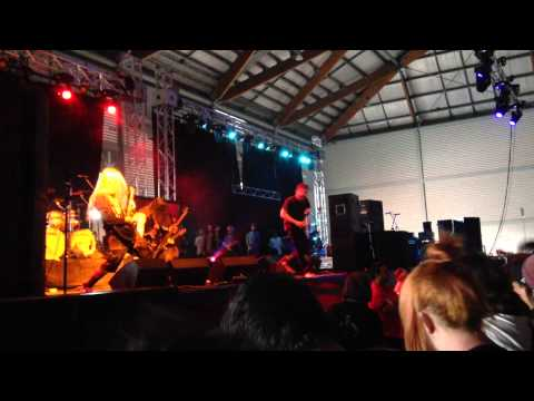 Suicide Silence - You Only Live Once Live Sydney Soundwave 23/2/2014