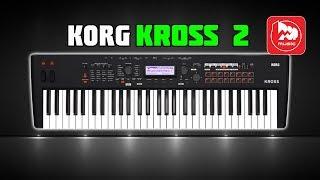 Смотреть клип Синтезатор KORG KROSS2 61 онлайн