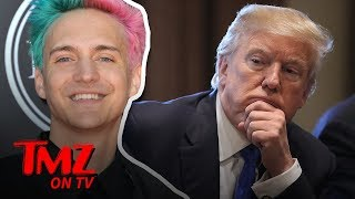 Ninja Claps Back At President Trump's