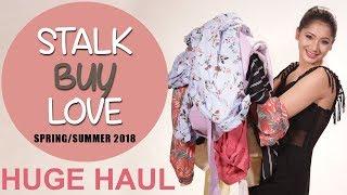 BIGGEST Stalk Buy Love Try On Haul 2018 | Summer Lookbook 2018