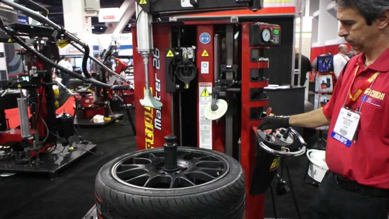 Wheel And Tire >> Corghi Tire Wheel Mounting Machine - YouTube