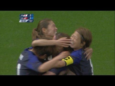 Japan 2-1 Canada - Women's Football Group F   London 2012 Olympics