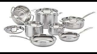 Top 3 Best Stainless Steel Cookware To Buy 2017 | Stainless Steel Cookware Reviews