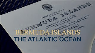 3D Nautical Chart of the Bermuda Islands, the Atlantic Ocean -  by Latitude Kinsale