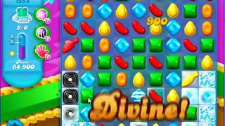 Candy Crush Saga SODA Level 1554 CE