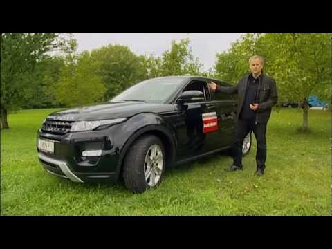 Range Rover Evoque 2.2 SD4 - Weekend Magazin Autotest