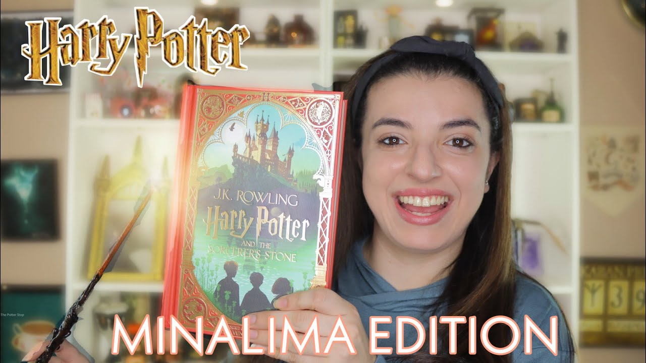 Download NEW Harry Potter and the Sorcerer's Stone Edition Illustrated by MinaLima