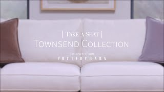 Take A Seat | Townsend Upholstered 4-Piece Sectional With Chaise