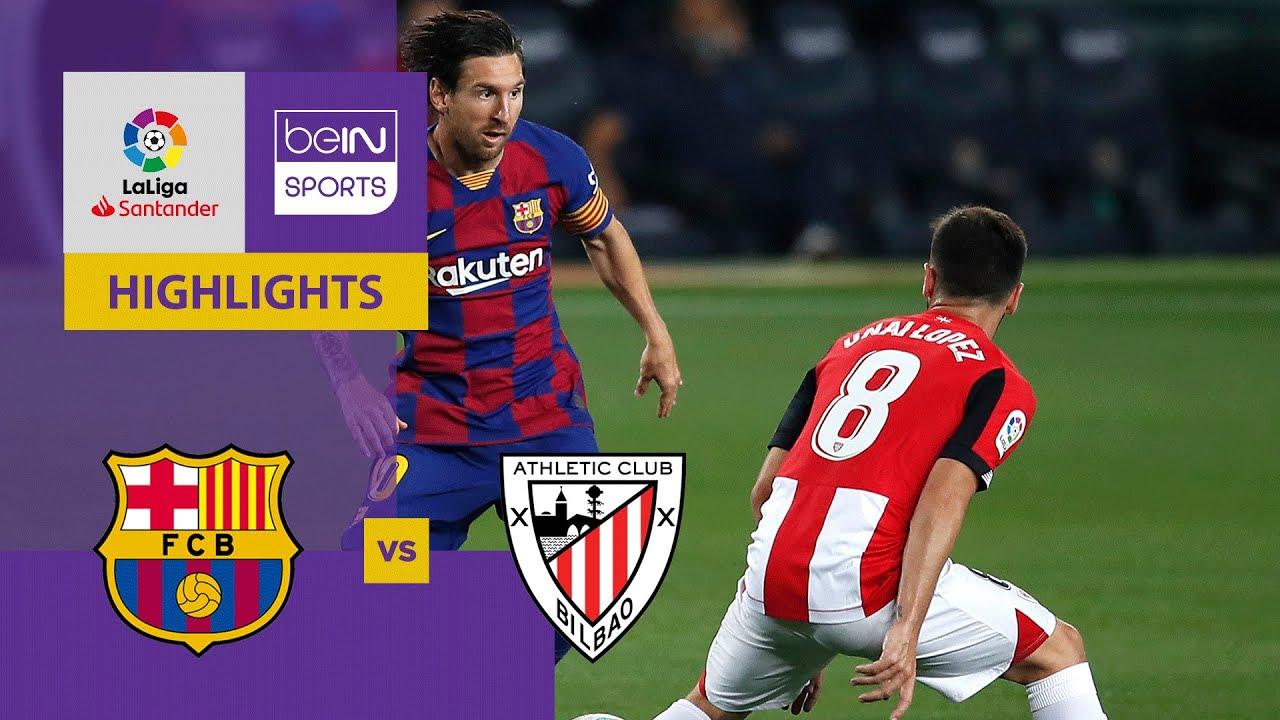 Barcelona v Athletic Club | LaLiga 19/20 Match Highlights ...