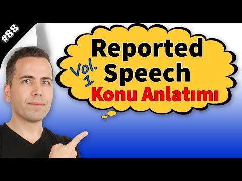 Reported Speech Konu Anlatımı #88
