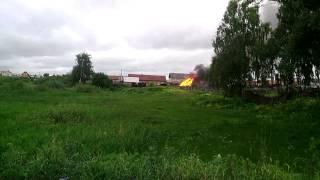 В Марий Эл, в Знаменском горит баня(, 2015-06-18T10:48:10.000Z)