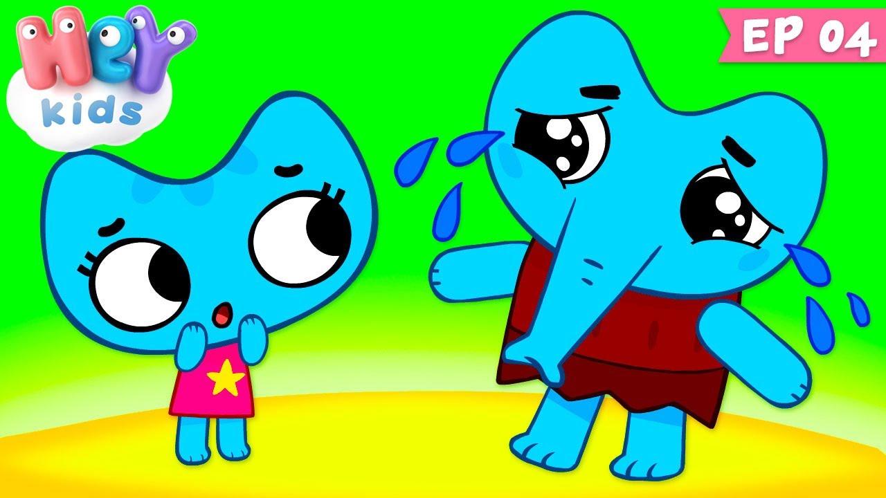 Kit și Keit : Catelefantul - Desene animate | HeyKids