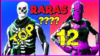 The best skins from FORTNITE! Are rare skins? My 12 favorite Skins