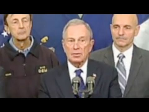 Hurricane Sandy: Michael Bloomberg tells New Yorkers to stay safe