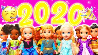 ✨✨HAPPY NEW YEARS 2020 Elsa and Anna and Kristoff Toddlers New Years Party